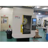 FANUC ROBODRILL- A-T21iE 4 AXIS CNC DRILL & TAP, CENTER, W/ FANUC 31iA5CONTROL