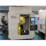 FANUC ROBODRILL- A-T21iF 4 AXIS CNC DRILL & TAP, CENTER, W/ FANUC 31iA5CONTROL                   19.