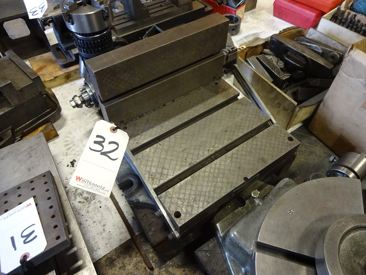 Lot 32 - Adjustable Angle Plate