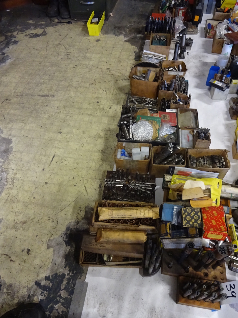 Lot 39 - LOT: Assorted Cutting Tools