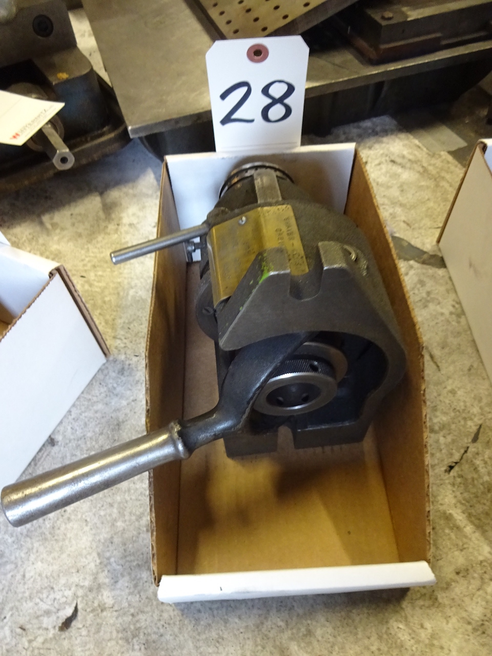 Lot 28 - Hardinge Model HV-4 5C Collet Fixture
