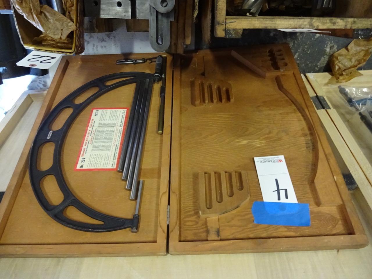 Lot 4 - Starrett No. 224 12 in. - 16 in. Micrometer