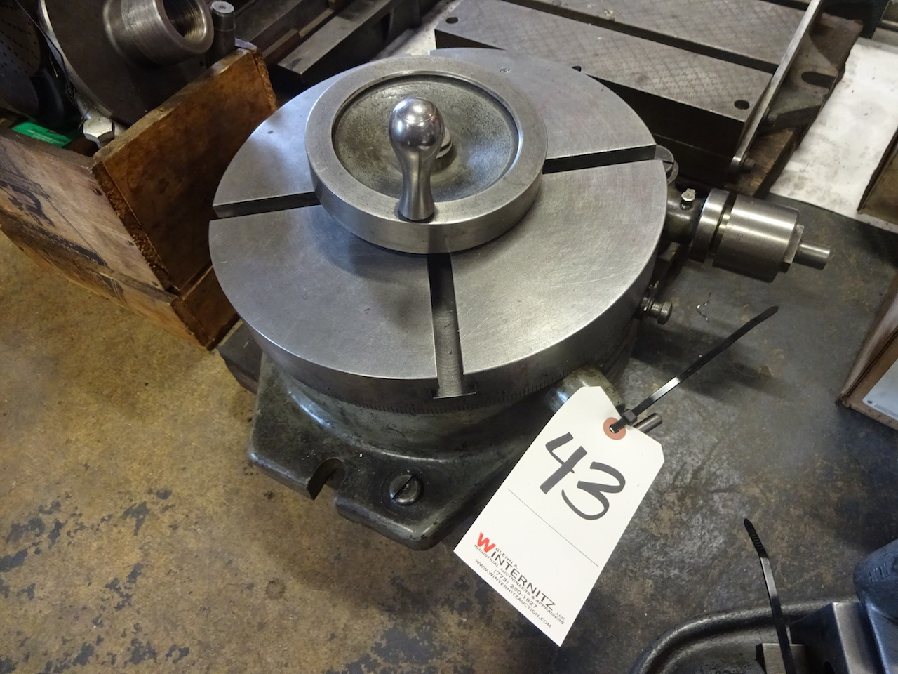Lot 43 - Troyke Model BH-12 12 in. Rotary Table