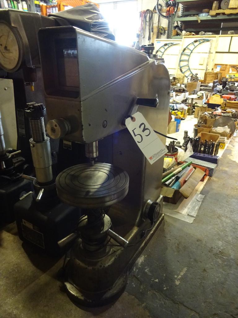 Lot 53 - Galileo Hardness Tester, S/N 103178