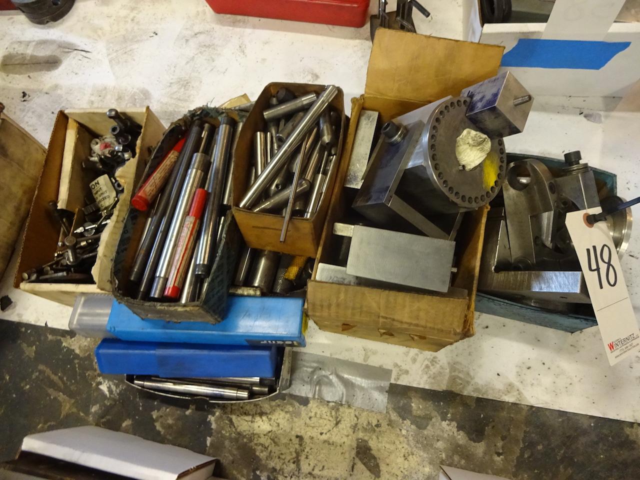 Lot 48 - LOT: Assorted Fixture Parts
