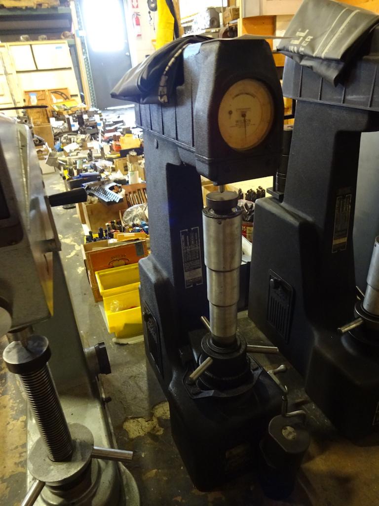 Lot 51 - Wilson Model RJR BB 0 Rockwell Hardness Tester