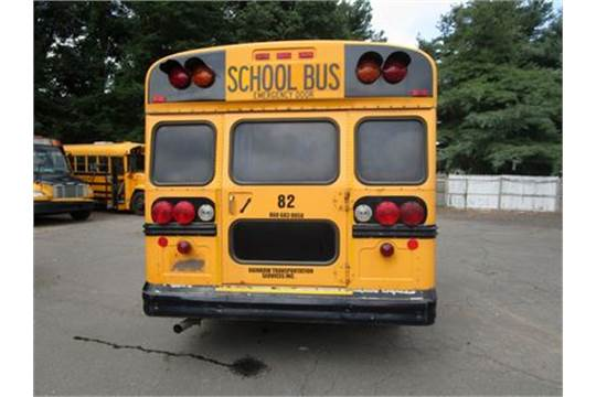 2005 CHEVROLET BLUEBIRD SCHOOL BUS, 20-PASSENGER, AT, PS, PB