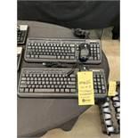 Lot de (2) claviers MICROSOFT et souris