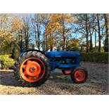 FORDSON MAJOR BLUE DIESEL TRACTOR, RUNS AND WORKS *NO VAT*