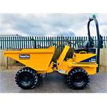 LESS THAN 1 HOUR! 2019 THWAITES 3 TONNE STRAIGHT TIP DUMPER, MACH 570, NEW / UNUSED, ROAD LIGHTS