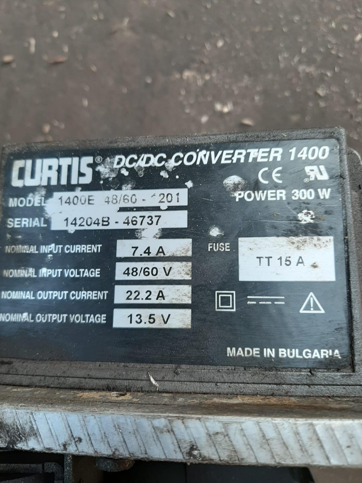 AISLE MASTER WH20E 2014 ELECTRIC FORK TRUCK POWER BOARD CURTIS BOARD WITH INVERTER *NO VAT* - Image 4 of 6