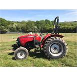 2014 CASE FARMALL 55 COMPACT TRACTOR W/ ROLL BAR, RUNS AND DRIVES *PLUS VAT*