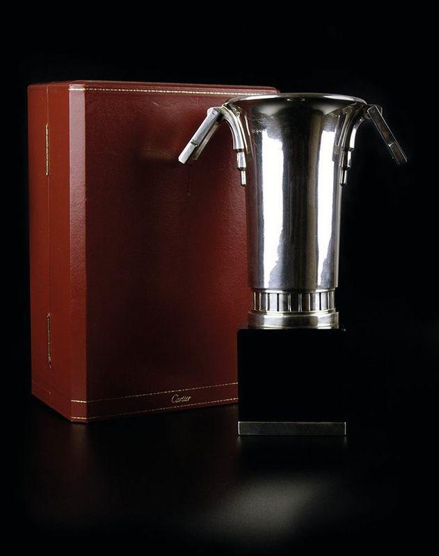Cartier Cup - Art Deco. 925 British hallmarks, made in 1930's. Cartier London [...]