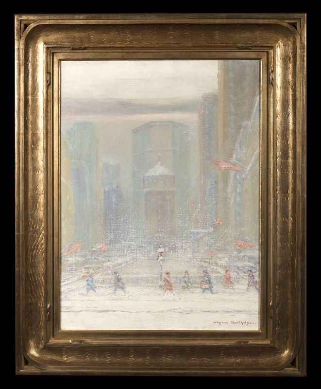 JOHANN HENRIK CARL BERTHELSEN (1883-1972) Park Avenue, New York, 1962 - Signed [...] - Bild 2 aus 2