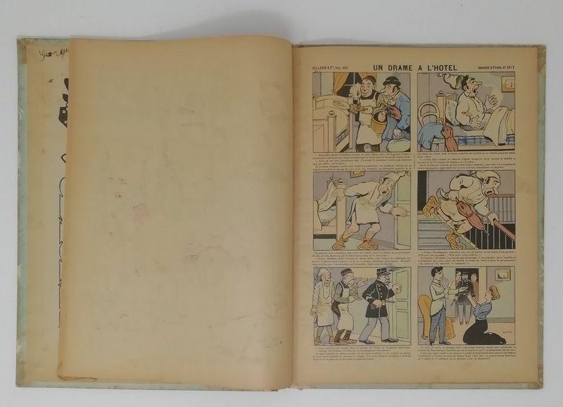Pellerin & Cie Images amusantes d'Epinal - 46 stencil watercolour humoristic [...] - Bild 3 aus 3