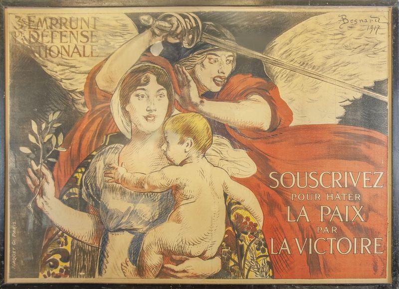 ALBERT BESNARD (1849-1934) Souscrivez pour Hâter la Paix par La Victoire, [...]