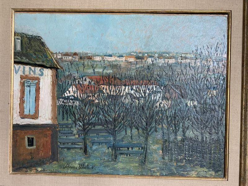 MAURICE UTRILLO (1883-1955) La Butte Pinson à Montmagny - Signed 'Maurice [...] - Bild 2 aus 2