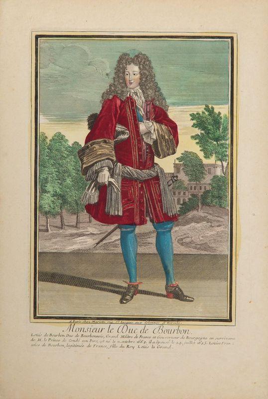 BONNART, MARIETTE, TROUVAIN etc. Portraits of Politicians, Noblemen and Royal [...]