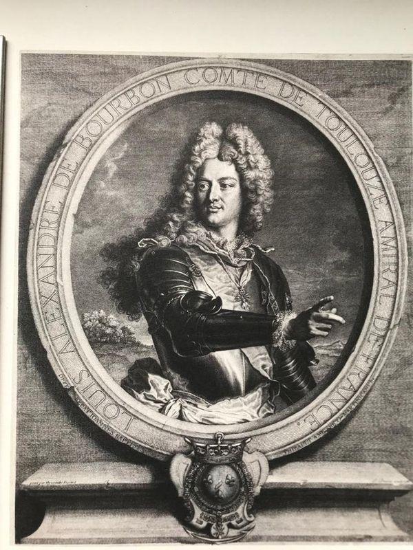 Pierre Drevet Louis Alexandre de Bourdon, count of Toulouse, 1714 - Firmin-Didot [...]