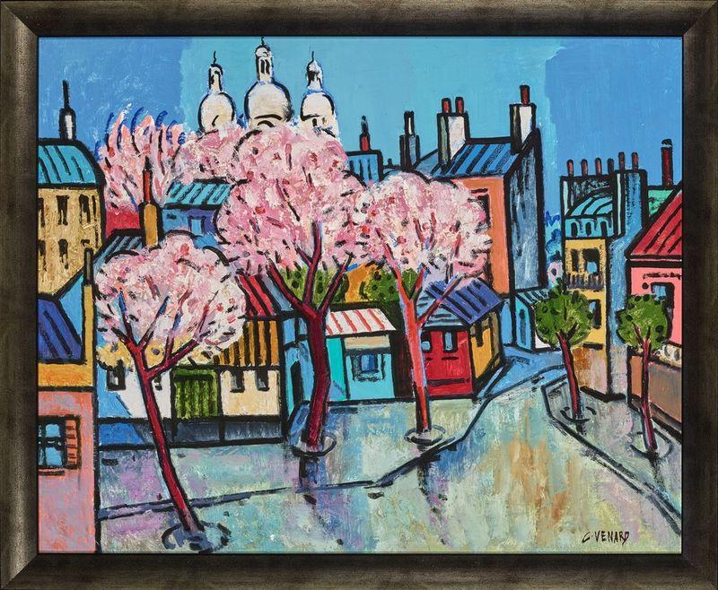 Claude Venard (1913-1999) Spring in Paris - Signed 'C Venard' (lower right) Oil on [...] - Bild 2 aus 2