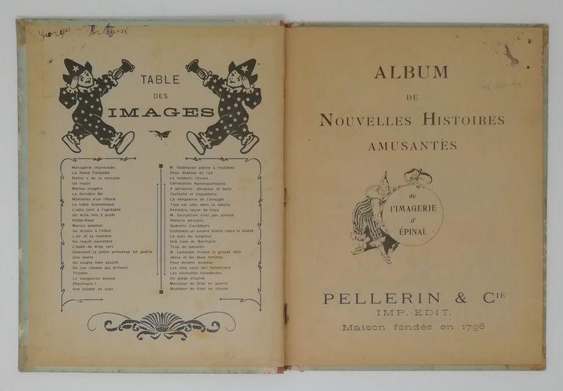 Pellerin & Cie Images amusantes d'Epinal - 46 stencil watercolour humoristic [...] - Bild 2 aus 3