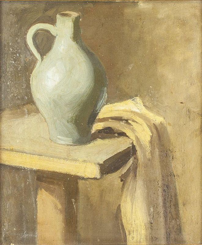 CLÉMENT-SERVEAU (1886-1972) Still life - Signed 'Clement Serveau' (lower [...]
