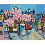 Claude Venard (1913-1999) Spring in Paris - Signed 'C Venard' (lower right) Oil on [...]
