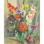 CHARLES KVAPIL (1884-1957) Flowers - Signed and dated 'Kvapil 1933' Oil on [...]