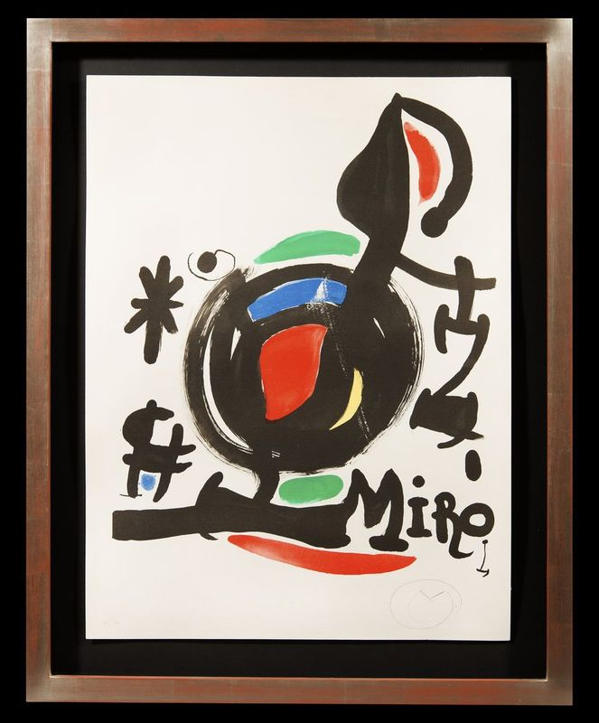 JOAN MIRÓ (1893 - 1983) Abstract - Signed with a monogram in Pencil 'M' [...] - Bild 2 aus 2