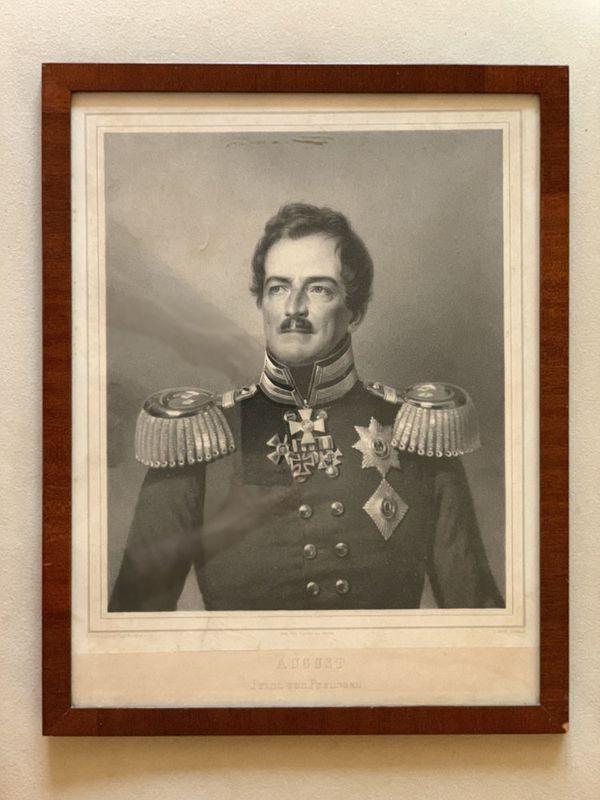 Franz Krüger (1797–1857) Portrait of the Prussian Prince Augustus. 1830s. - [...] - Bild 2 aus 2
