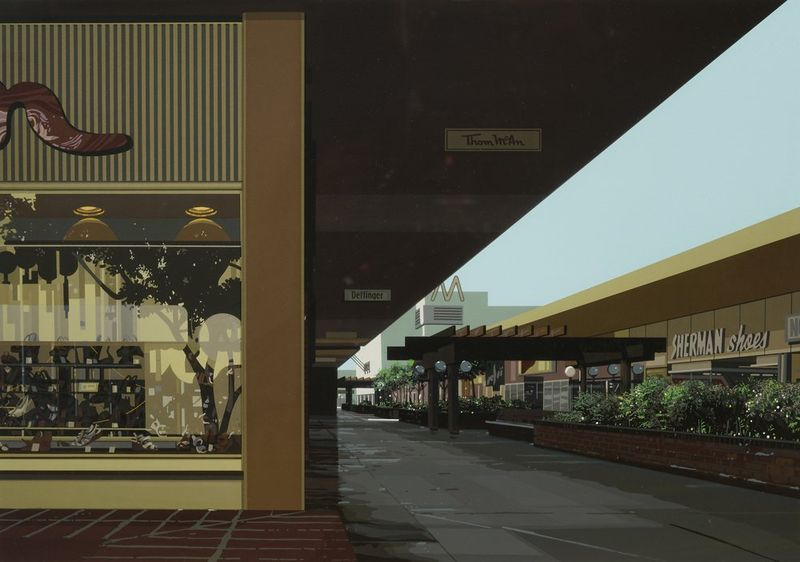 Richard Estes (1932) Urban Landscape III, 1981 5 screenprints, Urban Lanscape III, [...] - Bild 2 aus 6