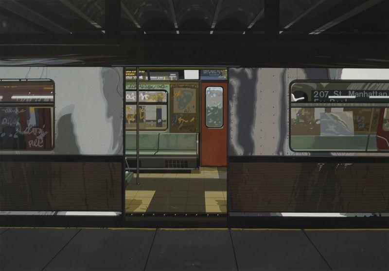 Richard Estes (1932) Urban Landscape III, 1981 5 screenprints, Urban Lanscape III, [...] - Bild 4 aus 6