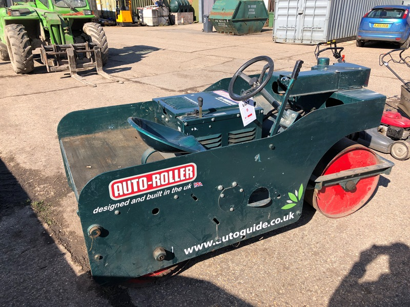 Lot 9 - Auto Guide 3ft Auto Roller, model 30306 Serial No. 4218 Year: 2008 Hours: 2,978