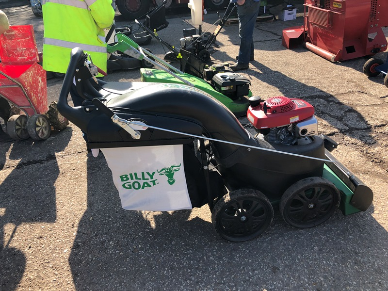 Lot 17 - Billy Goat MV650SPH wheeled leaf vacuum with Honda GSV190 petrol engine Serial No. 030716164