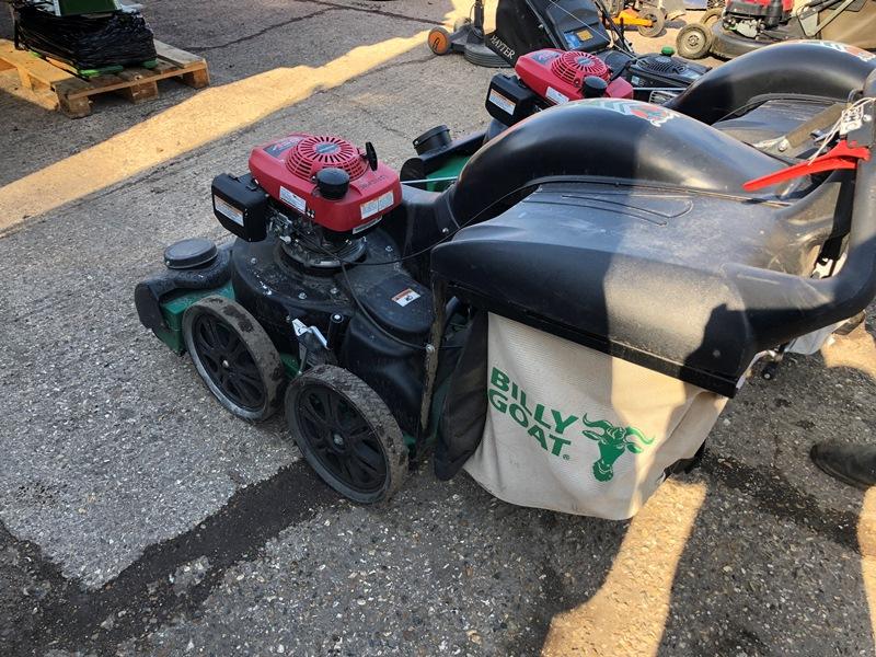 Lot 15 - Billy Goat MV650SPH wheeled leaf vacuum with Honda GSV190 petrol engine Serial No. 062215011