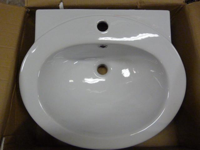 Lot 55 - *TCCPT03 Petite Basin 1TH Bathroom Sink