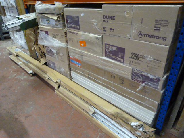 Lot 60 - Large Quantity of Suspended Ceiling