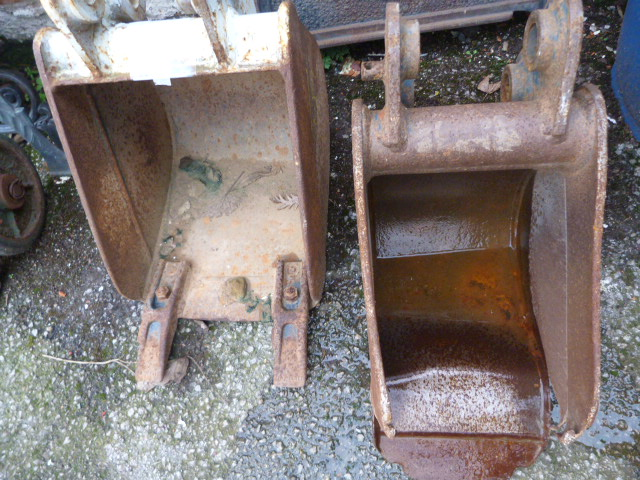 Lot 36 - *Two Mini Digger Buckets