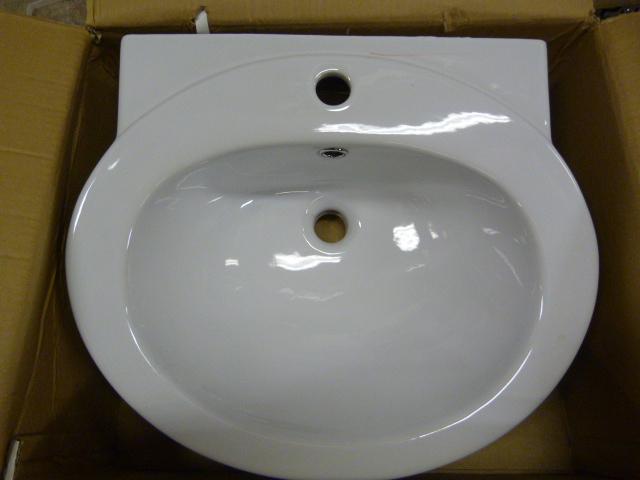 Lot 56 - *TCCPT03 Petite Basin 1TH Bathroom Sink