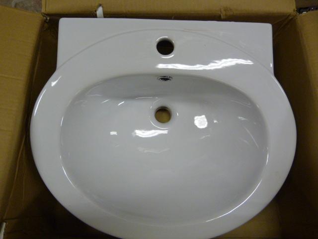 Lot 57 - *TCCPT03 Petite Basin 1TH Bathroom Sink