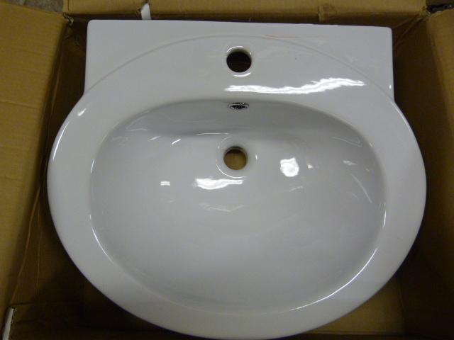 Lot 58 - *TCCPT03 Petite Basin 1TH Bathroom Sink