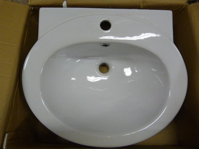 Lot 59 - *TCCPT03 Petite Basin 1TH Bathroom Sink