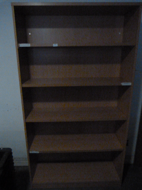 Lot 43 - Office Shelves 190x105x35cm
