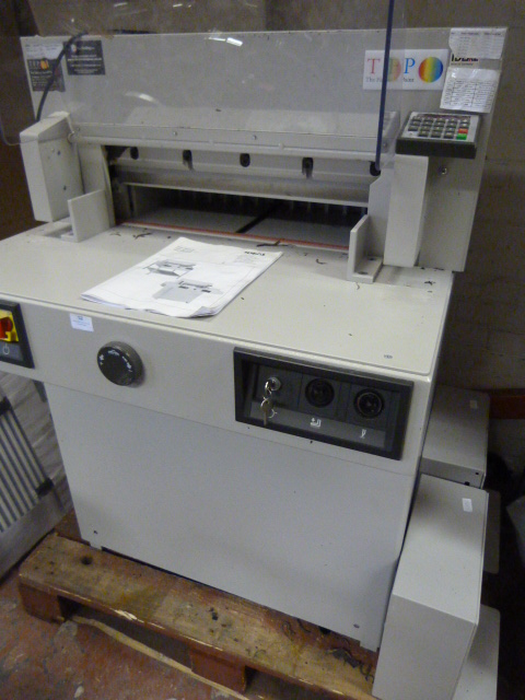 Lot 52 - *Ideal 5221-95EP Paper Guillotine
