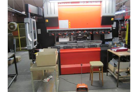 Amada 50 ton x 2m CNC upstroking hydraulic press brake