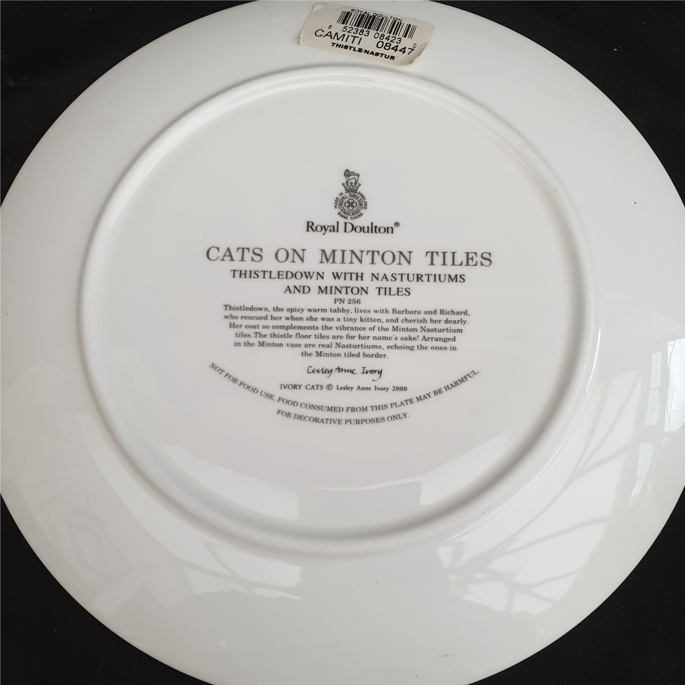 Vintage Parcel of Boxed Collectables Includes Royal Doulton 8 Inch Cat Plate - Image 2 of 2