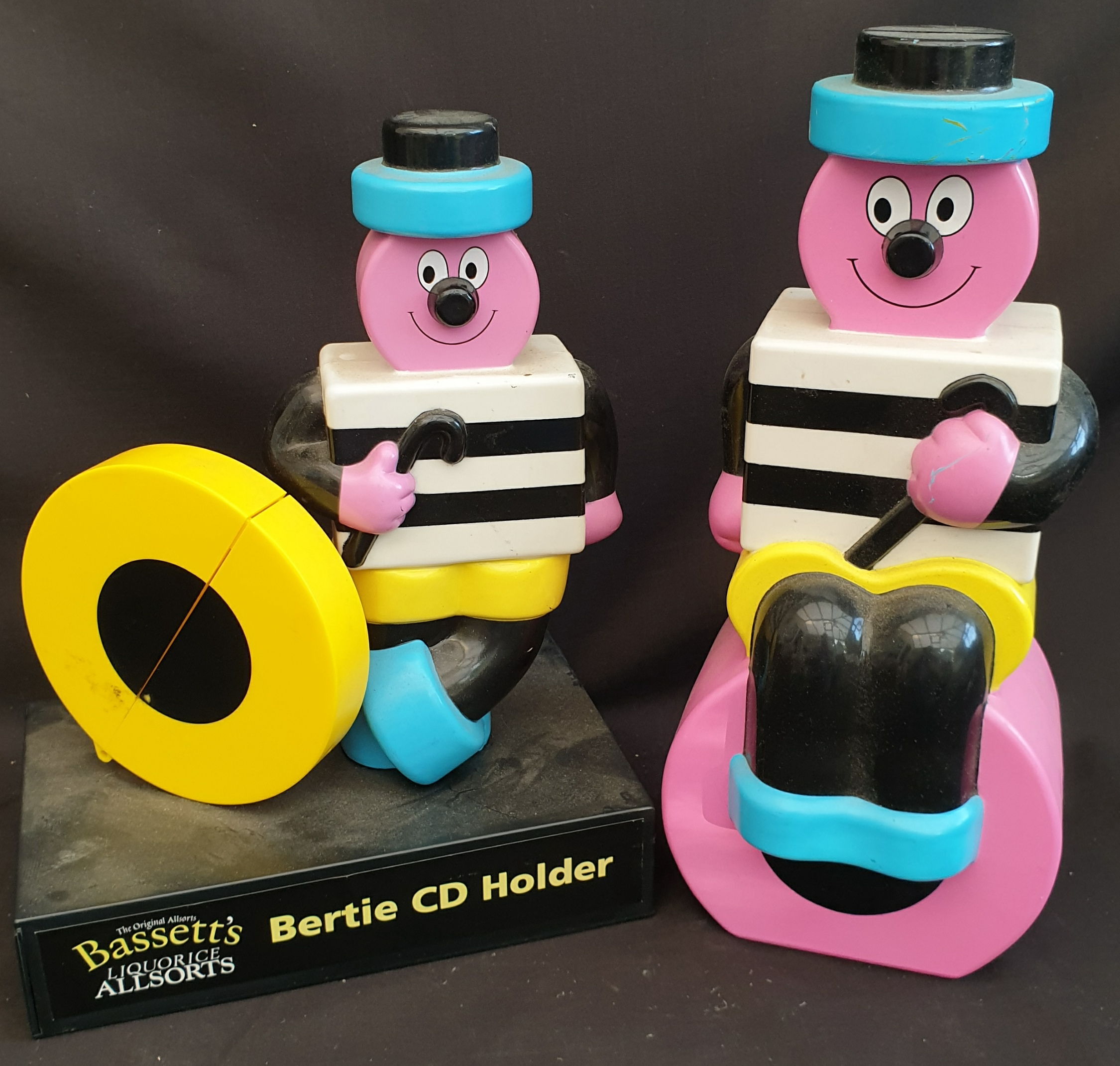 Novelty Bassett's Allsorts Money Box & CD Holder