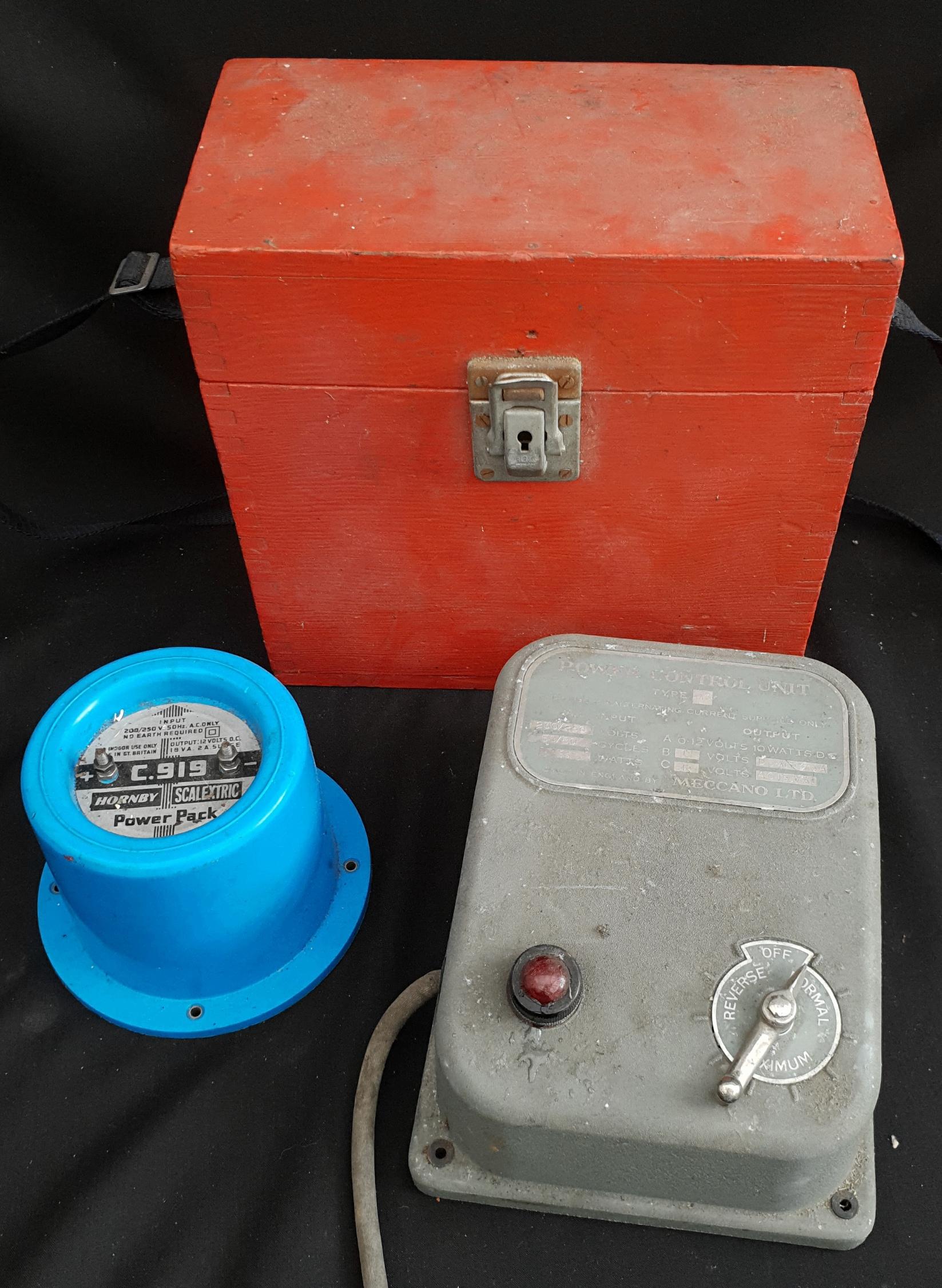 Vintage Hornby & Meccano Transformers