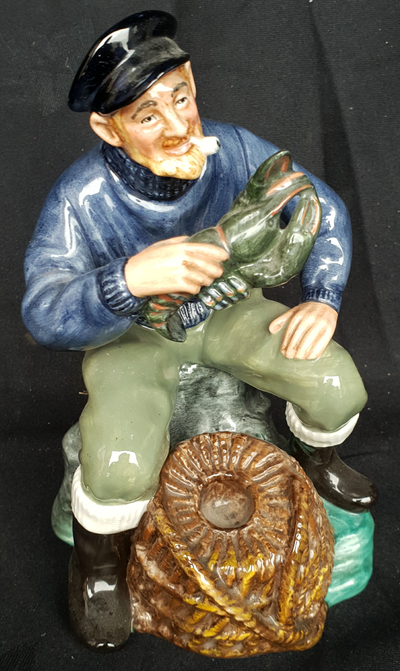Vintage Royal Doulton Figure The Lobster Man HN 2317