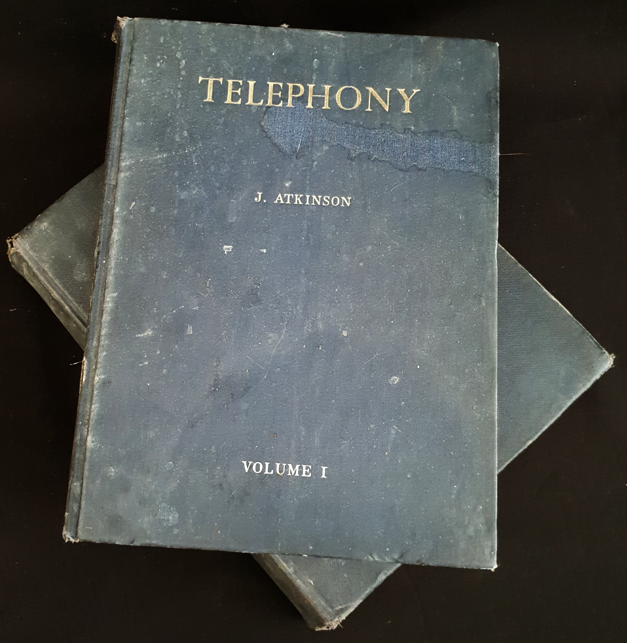 Vintage Books 2 Volumes of Telephony